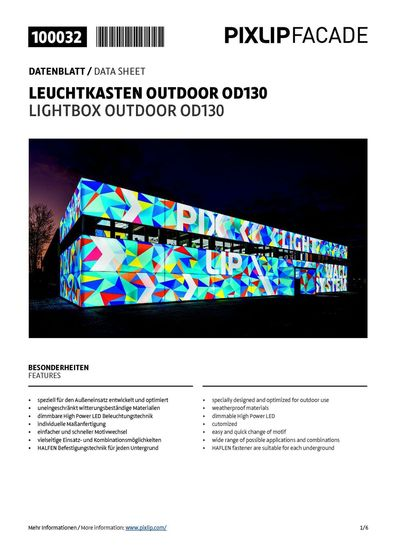 Lightbox Outdoor OD130