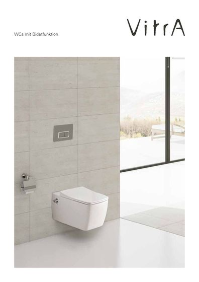 WCs mit Bidetfunktion