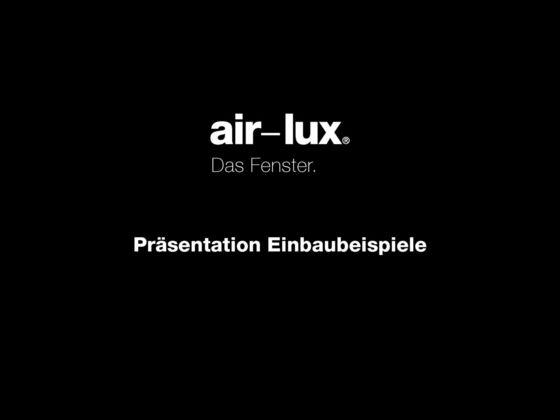 air-lux Präsentation Einbaubeispiele