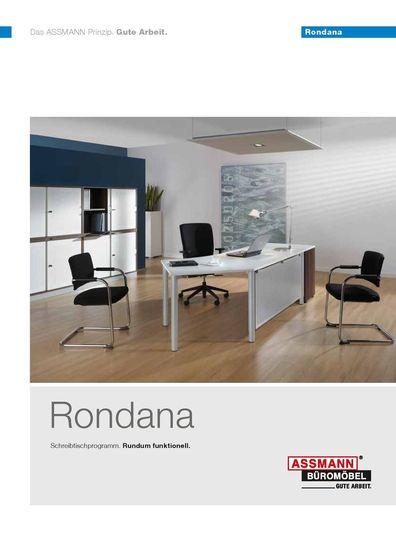 Rondana – Schreibtischprogramm