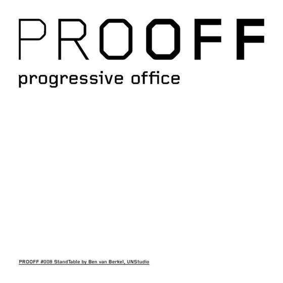 StandTable Brochure