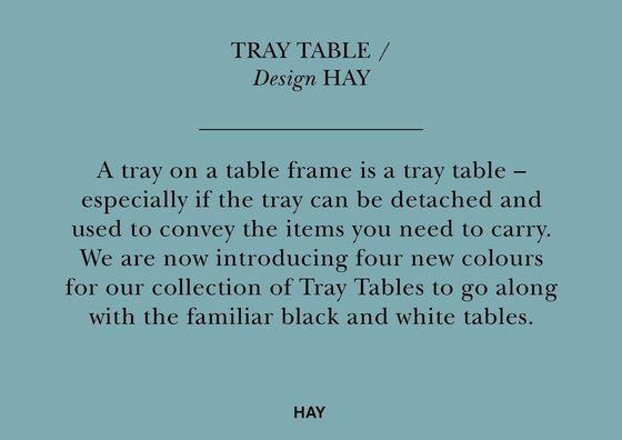 HAY Tray Table