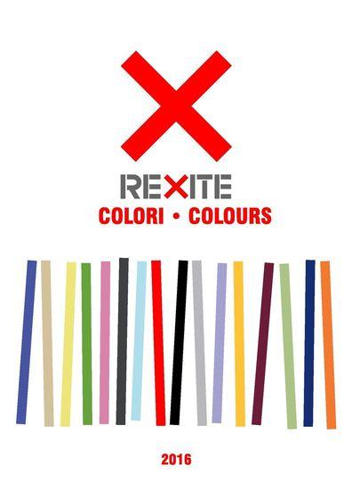 Rexite Colours 2016