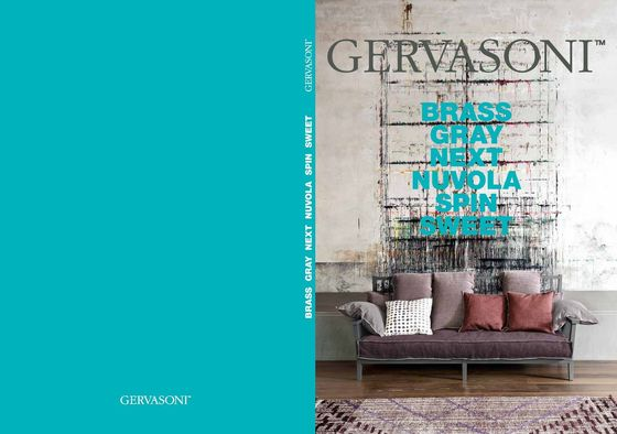 Gervasoni | Brass Gray Next Nuvola Spin Sweet 2016