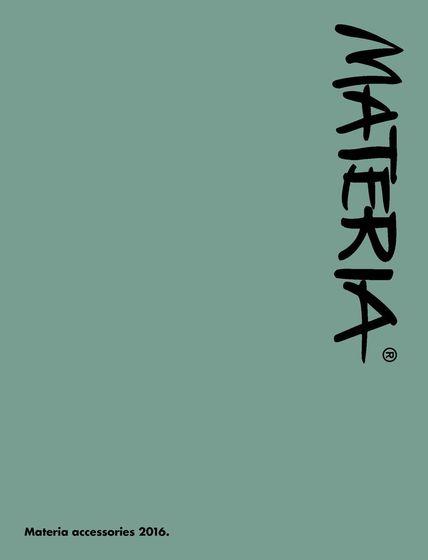 Materia Accessories 2016