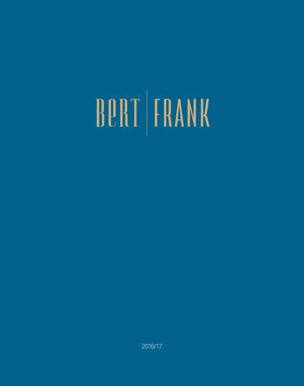 Bert Frank - Catalogue 2016/2017