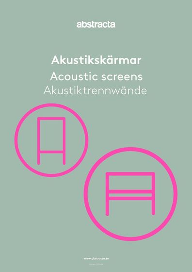 Abstracta Acoustic Screens