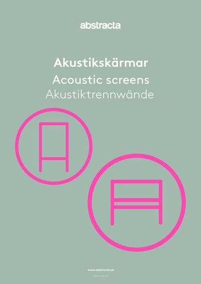 Abstracta Akustiktrennwände