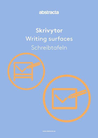 Abstracta Schreibtafeln