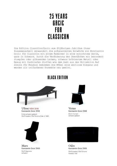 Grcic Black Edition