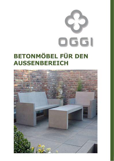 OGGI Beton - Betonmöbel I Außenbereich