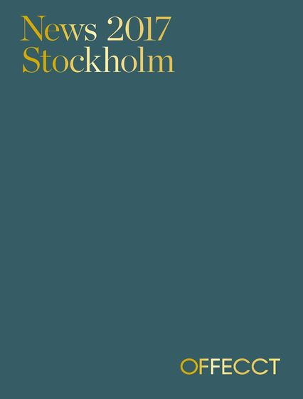 Offecct News Stockholm 2017