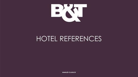 Hotel References