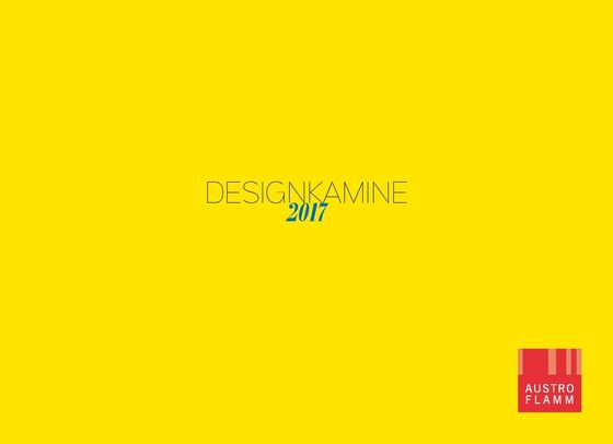 Austroflamm Design Kamine 2017