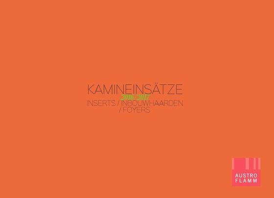 Austroflamm Kamineinsaetze Katalog 2016/2017