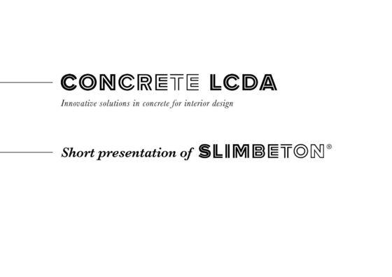 CONCRETE LCDA Produkte, Kollektionen & mehr | Architonic