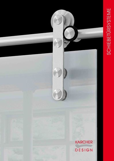 Karcher Design Edition | Schiebetürsysteme