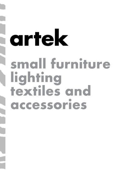 artek | accessories catalog 2017