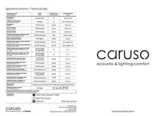 Caruso Fabric Sample Catalogue 2016
