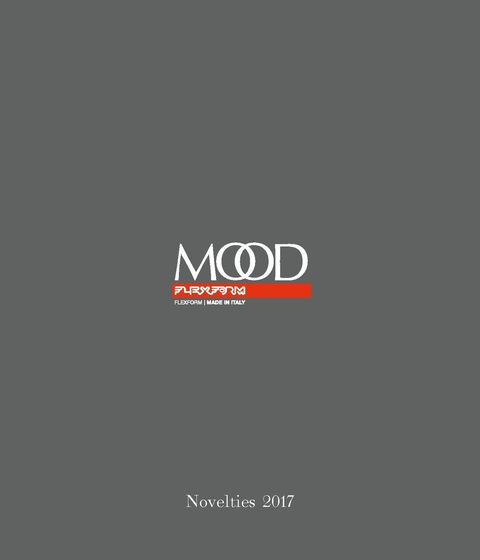 Flexform Mood | Novelties | 2017