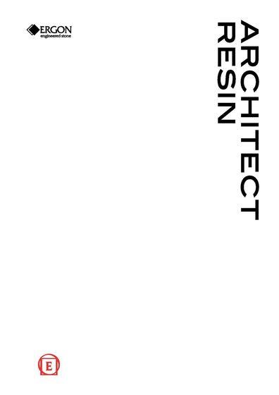 Architect Resin - Ergon