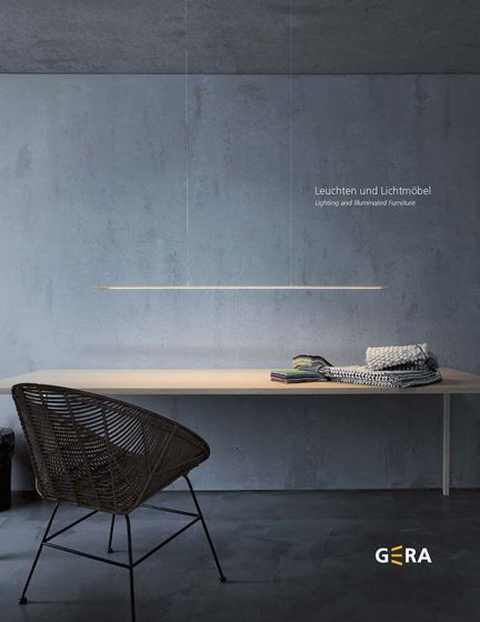Lighting and Illuminated Furniture