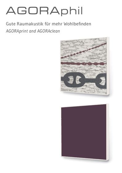 AGORAprint and AGORAclean