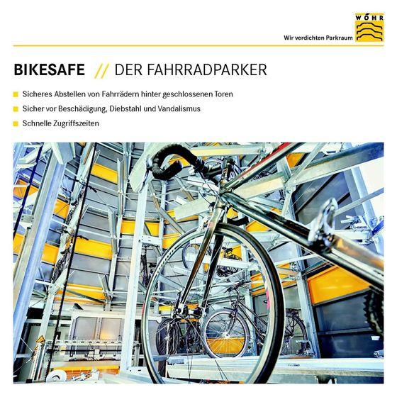 Booklet | Bikesafe – Der Fahrradparker