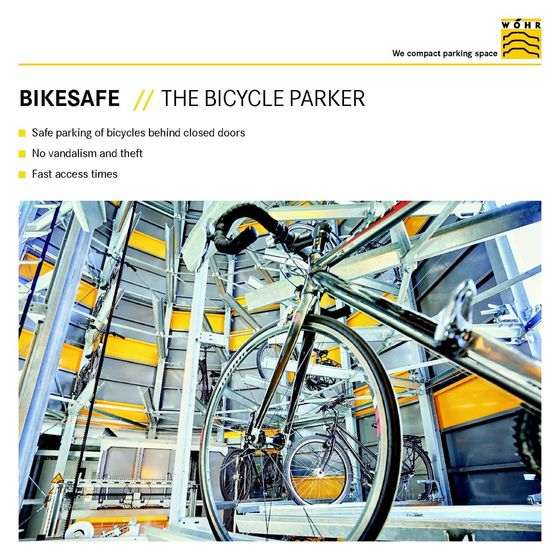 Booklet | Bikesafe – The Bicycle Parker