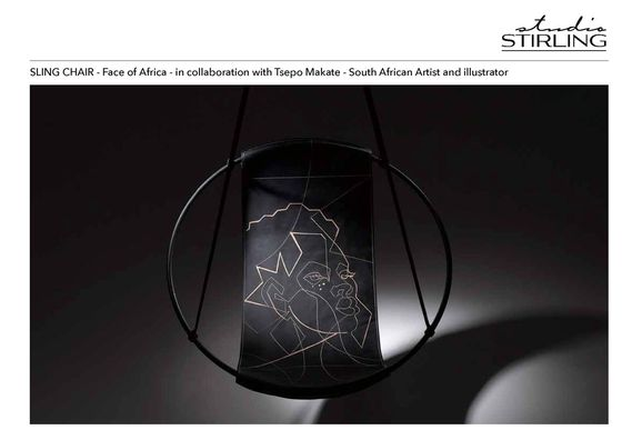 Sling Face of Africa and Nature Emboss