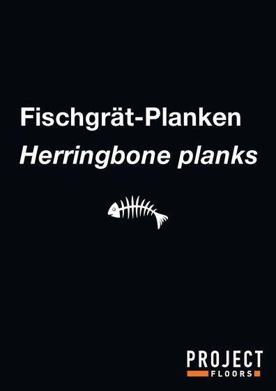 Broschüre Fischgrät-Planken