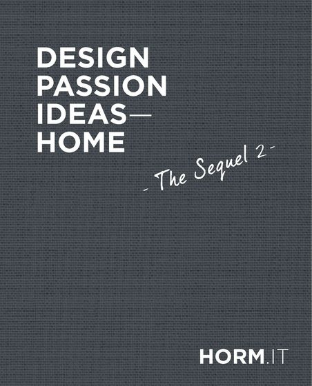 Horm | Design, Passion, Ideas - Home | The Sequel 2