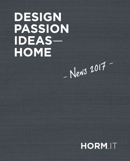 Horm | Design, Passion, Ideas - Home | News 2017