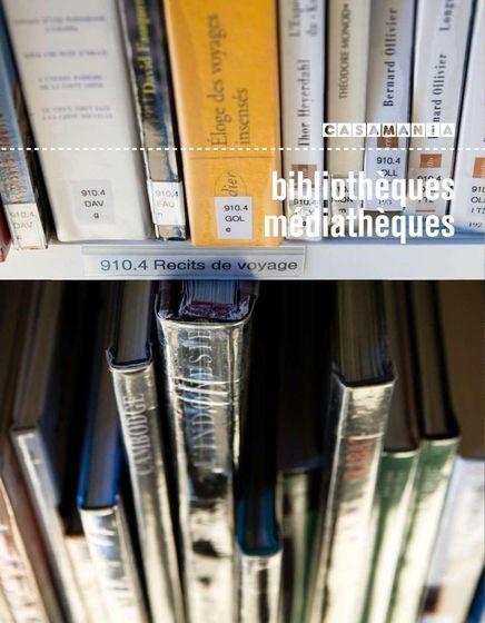 Casamania | bibliothèques médiathèques