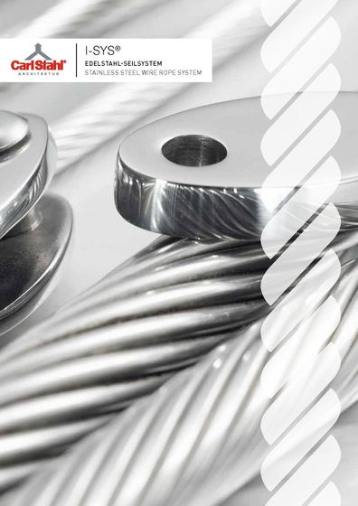 I-SYS® Stainless Steel Wire Rope System