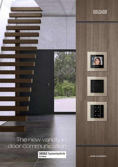 The new variety in door communication