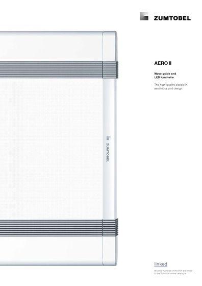 AERO II | Wave guide and LED luminaire