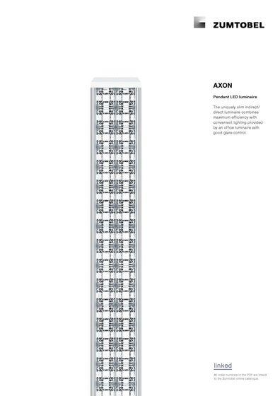AXON | Pendant LED luminaire