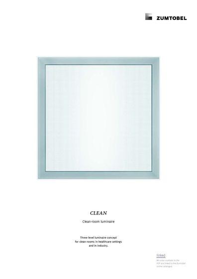 CLEAN | Clean-room luminaire
