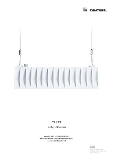 CRAFT | High-bay LED luminaire
