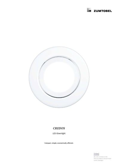 CREDOS | LED-Downlight