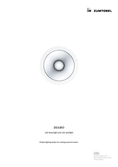 DIAMO | LED downlight and LED spotlight