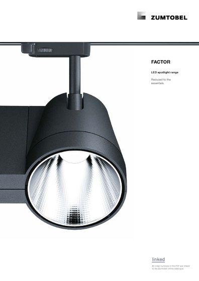 FACTOR | LED spotlight range