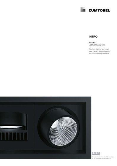 INTRO | Modular LED lighting system