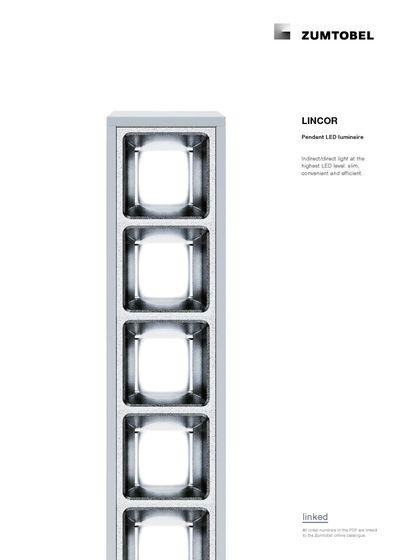 LINCOR | Pendant LED luminaire