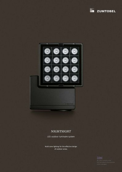 NIGHTSIGHT | LED outdoor luminaire system