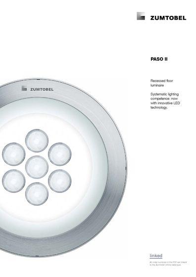 PASO II | Recessed floor luminaire