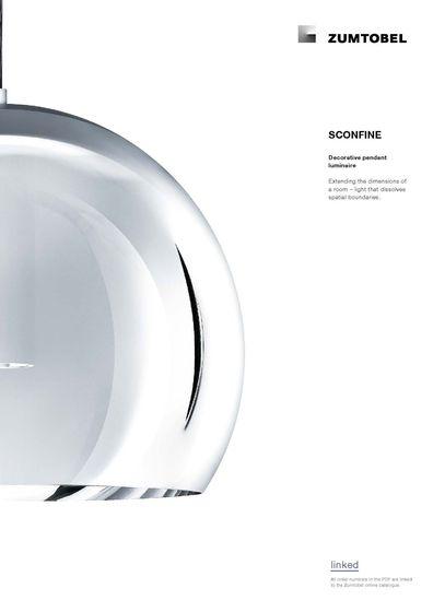 SCONFINE | Decorative pendant luminaire