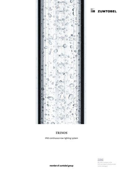 TRINOS | IP65 continuous-row lighting system
