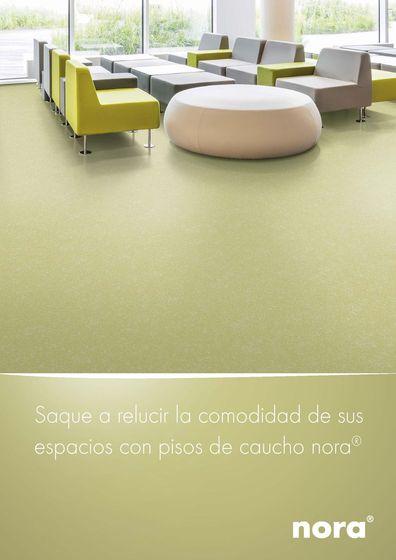 nora® Saque a relucir la comodidad de sus espacios con pisos de caucho